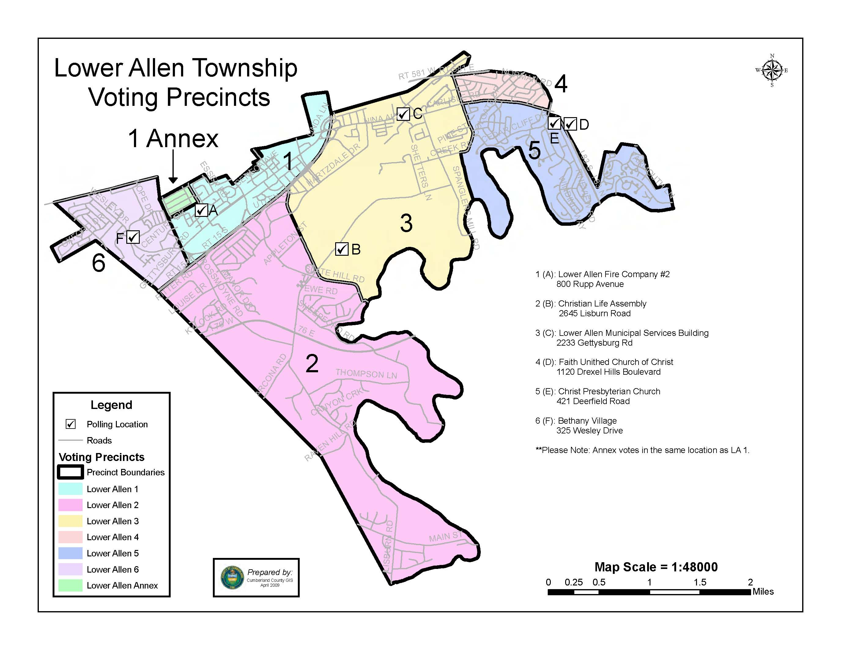 Tax Office | LOWER ALLEN TOWNSHIP, PA – A Township of the First Class