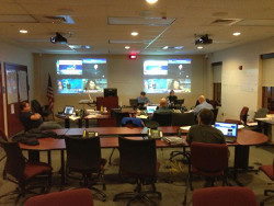 Hurricane Sandy EOC Activation