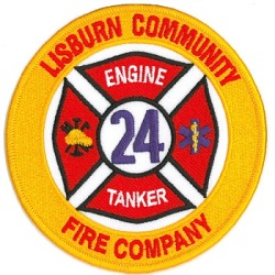 Lisburn Fire Patch small