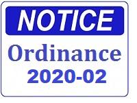Notice -Ordinance