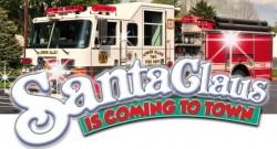 Santa Fire Engine