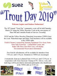 Trout Day 2019 Invitation